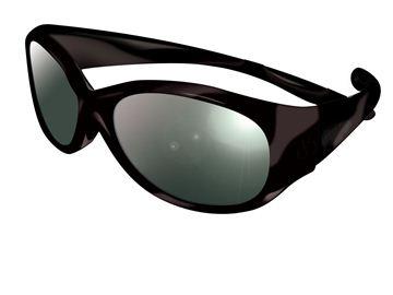 Снимка на Слънчеви очила Visioptica Kids - Reverso Vista - 4-8 години - ЧЕРНИ