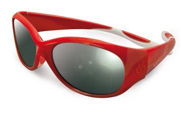 Снимка на Слънчеви очила Visioptica Kids - Reverso Vista - 4-8 години - червенобели