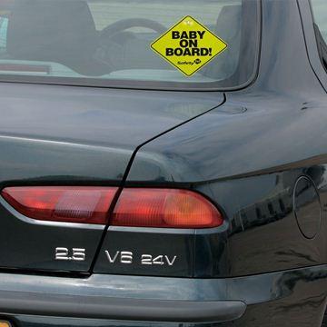 """Снимка на Табела """"Бебе в колата"""" (1 бр./оп.) - ST-38000760"""