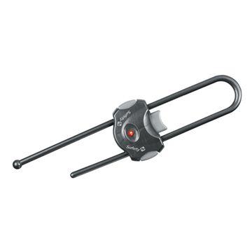 Снимка на Устройство за заключване на шкаф с плъзгач (1 бр./оп.) – сив цвят - ST-33110039