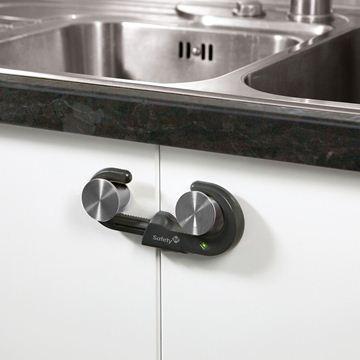 Снимка на Устройство за заключване на шкаф (1 бр./оп.) – сив цвят - ST-33110037