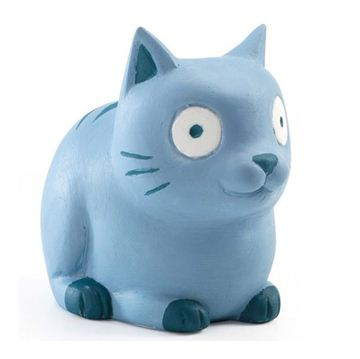 Снимка на Djeco - Гумена играчка - Синьото коте
