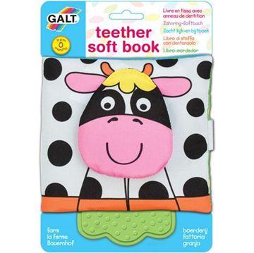 Снимка на GALT - Мека книжка с гризалка - Ферма
