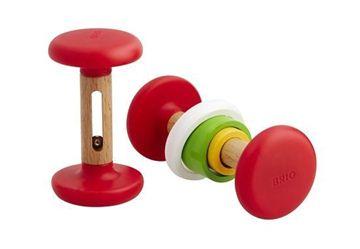 Снимка на Brio - Дървена дрънкалка гиричка