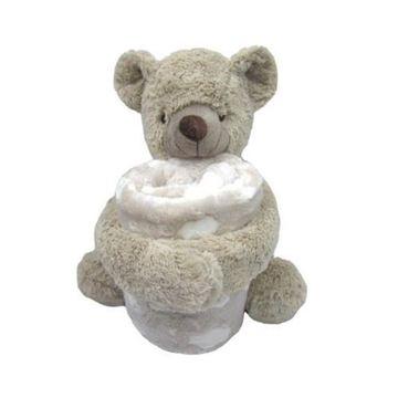 Снимка на KIKKA BOO Бебешки сет одеяло с играчка TEDDY 242310